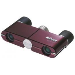 Бинокль Nikon 4x10 DCF бургунди