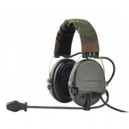 Активные наушники с гарнитурой Z-Tactical MSA Sordine Supreme