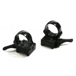 Быстросъемные раздельные кольца Apel на Weaver (D30мм, низкие) 365-65800