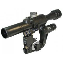 Прицел оптический ПО 4x24 (НПЗ) (с подсветкой)