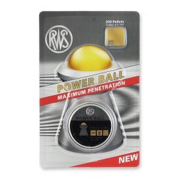 Пули RWS Power Ball 4,5 вес 0,61г в подарочной упаковке