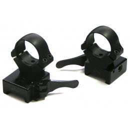 Быстросъемные раздельные кольца Apel на Weaver (D26мм, высокие) 365-80800