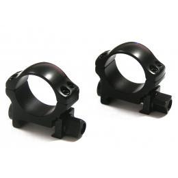 Быстросъемные кольца Recknagel на weaver BH 5,0mm на кольца D26mm 57026-0501