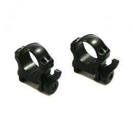 Быстросъемные кольца Recknagel на weaver BH 22mm на кольца D26mm 57526-2201 на рычаге (высокие)