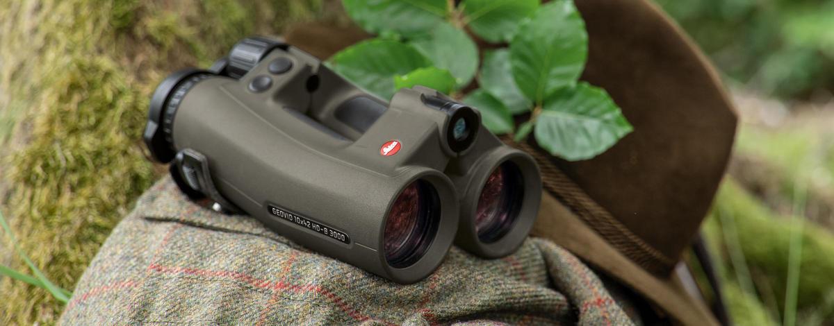 Бинокль с встроенным дальномером Leica Geovid 10x42 HD-В 3000